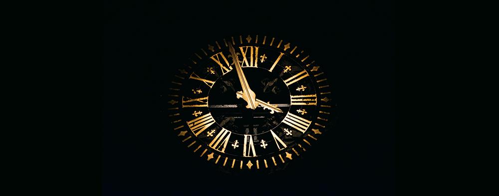Извинете, колко е часът?