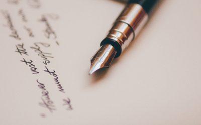 Как се пише любовно писмо?